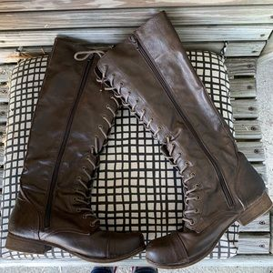 Madden girl Gravitee combat boots!